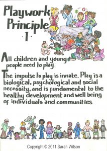 Playwork Principle 1 Colour